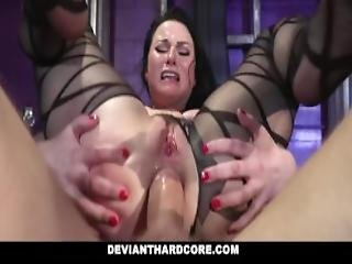 Devianthardcore Submissive Whore Veruca James Fucked In The Ass