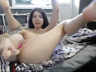 Sexy_b0rsch Vibrator In Pussy, Dick In Ass 2