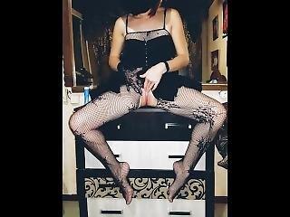 Games With A Beautiful Mistress. Masturbation. Kegel Balls. Fuck Her.