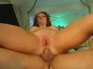 huge dildo fuck cumshot - Audrey Gets Pussy And Ass Fucked