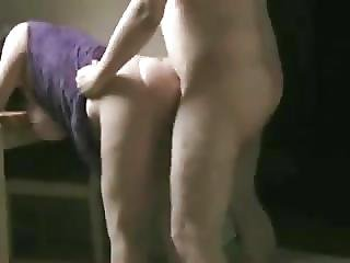 Fucking A Big Tit Milf Doggy In Kitchen