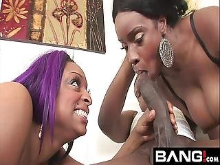 Bang.com Hot Sluts Take A Deep Mouth Fuck