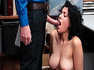 Maya Morena Sucking A Big Loaded Cock Inside Her Mouth