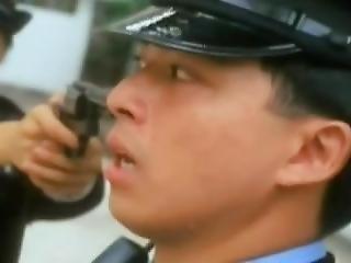 asiatique, coréene, police