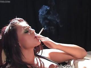Smokeymouths Eva Angelina Smoking Sex