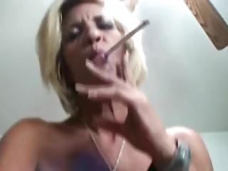 Smoking Skinny Gilf Fucked