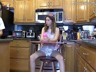 Abdl Diaper Fed Sushi Highchair