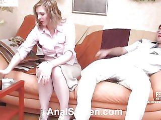 Guy Licks Pussy In Drunken Aunt