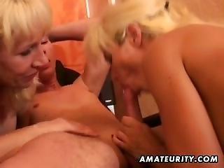 Amateur Homemade Threesome Hardcore