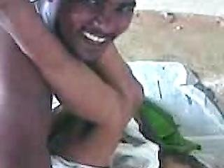 Tamil Maid Massaged In Group