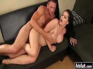 Katrina Jade Gets Cum On Her Knockers
