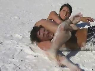 amatoriale, bambola, spiaggia, mora, fetish, in pubblico, reality