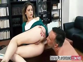 Stuffing The Student   Kristen Scott Deepthroats Her Teacher
