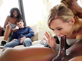 Daizy Cooper & Carolina Sweets Interracial - Cuckold Sessions