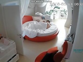 blond, kneppe, russik, sover, webcam