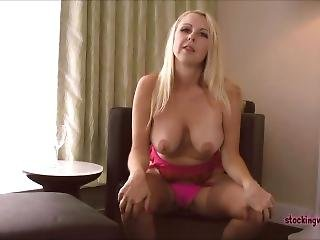 Stockingvideos - Jerk Off With A Milf In Blue Jeans Kylie Deville