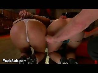 Bdsm Orgy With Hot Lesbo Bitches