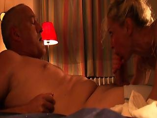 Mature Wifey On Bed Getting Nasty With Her Hubby