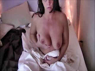 Insatiable Milf Diane Andrews In Catching Her Masturbating