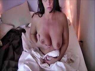 Insatiable Milf Diane Andrews In Catching Her Masturbating