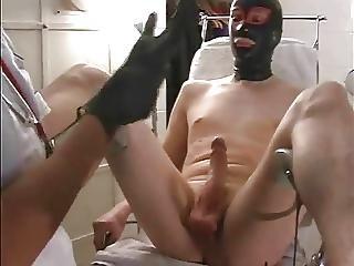 Domme Nurse Pegs Her Sissy