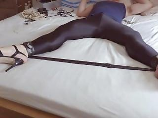 Spandex Heels Cum For Mastermistress