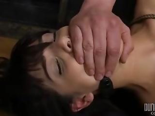 Suspended Gina Valentina - Dungeoncorp Bdsm - Bent And Split