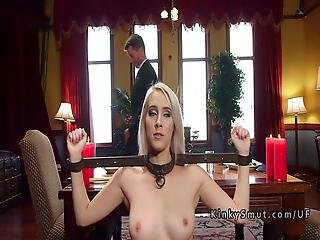 Two Slave Step Sisters Anal Bondage Fuck