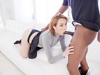 Perky Girlfriend Cheats With Big Black Cock