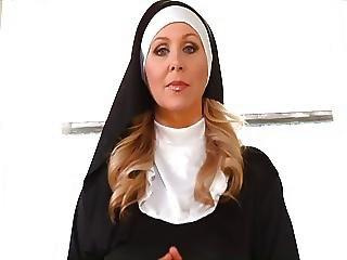 Nun Handjob Julia