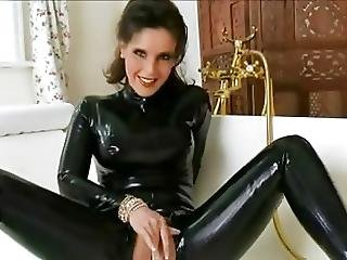 Amateur, Bitch, Catsuit, Fetish, Foot, Latex, Masturbation, Milf