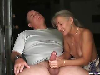 Couple, Handjob, Mature