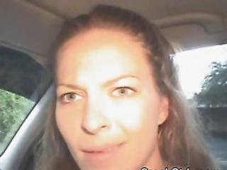 Street Walking Crack Whore Sucking Dick In A Car