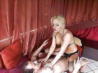 Blonde Whores Cunt Is Dripping And Ready For A Fuck