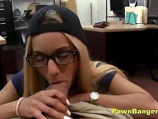 Hot Blonde Teen Babe Takes Cock In Her Tight Pussy