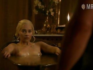 Emilia Clarke Naked In Game Of Thrones S03e08