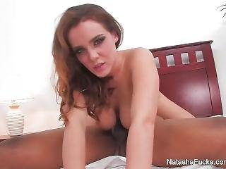 All Natural Natasha Nice Takes A Bbc In Bed