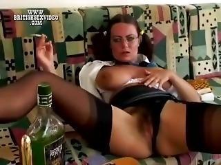 Smoking Solo Tits