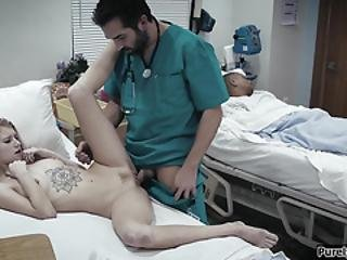 Perv Doc Convince Patient To Get Fucked As Part Of Treatment