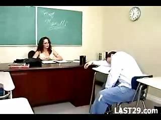 röv, milf, sex, lärare