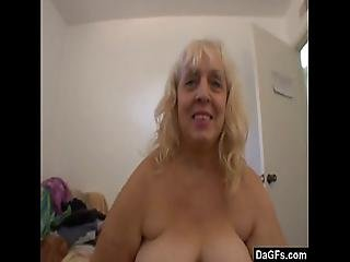 Fat Mom Blows My Erect Cock