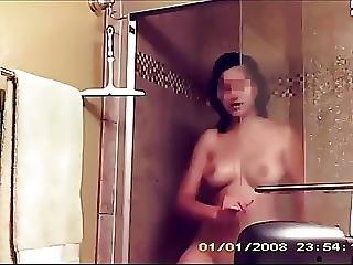 Spying On Cute Indian Teen Showering
