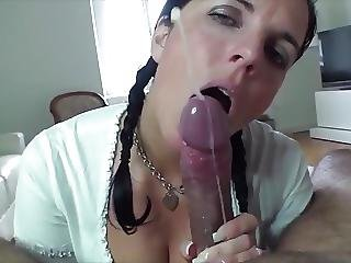 Epic blowjob and handjob cumshot tube