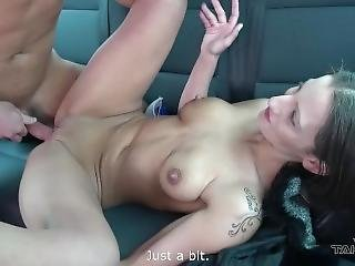 Naive Teenager Fuck Stranger In Driving Van In Faith He Drive Her Home