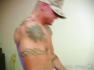 Marine Fucks His Girl