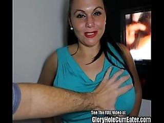 Big Boobied Betty Glory Hole Porn Star Tryout