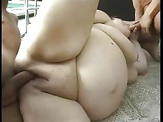 Amateur Bbw Bareback Mmf Threesome Cim Facials