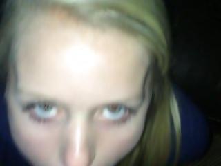 Highschool Blonde Cheats On Boyfriend After School