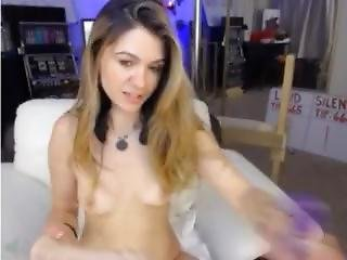 Hot Dirty Petite Blonde Cam Girl Screams As She Rides A Cock!