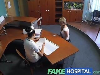Fakehospital Lady Sucks Cock To Save On Medical Bills